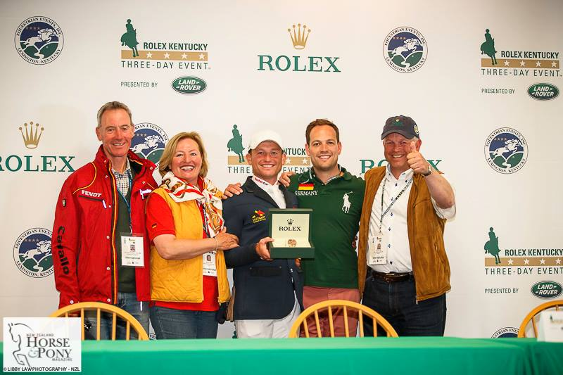 The Jung team - we wonder who got to wear the Rolex watch? Photo credit Libby Law Photography