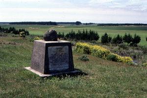 The Bess memorial, near Bulls