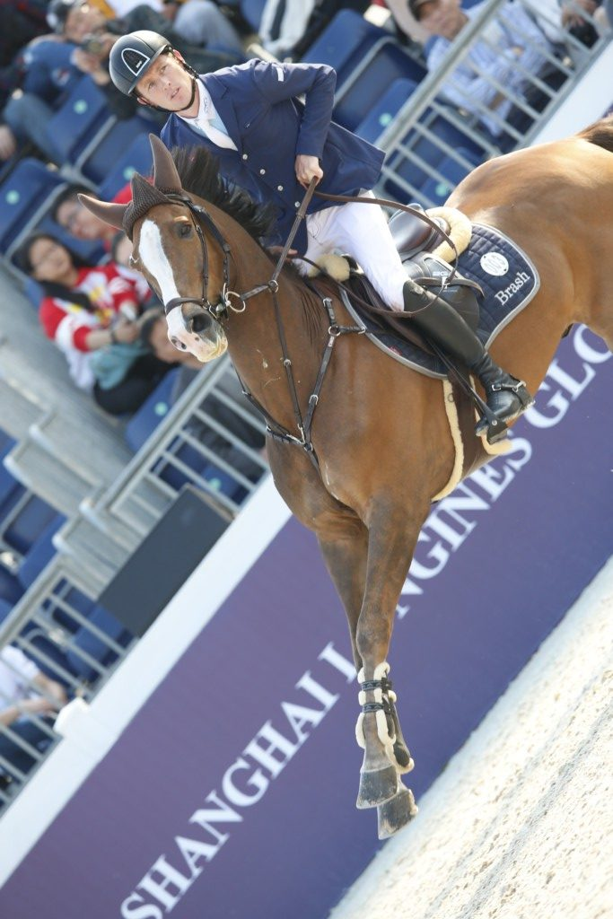Scott Brash on Hello Forever (Image: Stefano Grasso/LGCT)