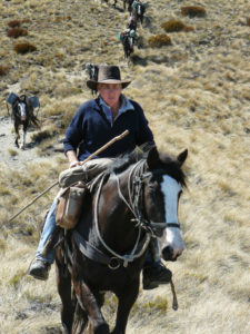 Lawrie has turned his love for horses and the high country into a successful business