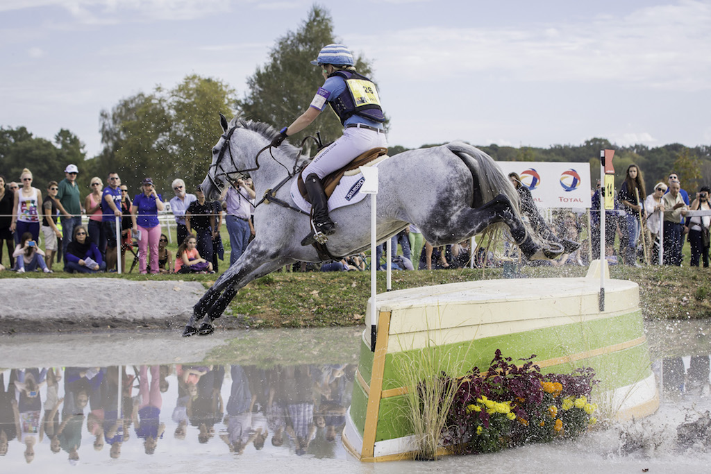 She lives for galloping and jumping (Image: Libby Law)