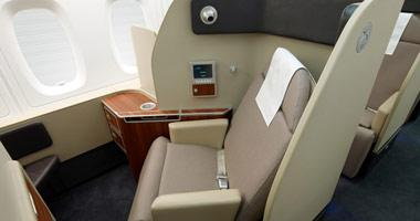 Seats look quite comfortable in first class