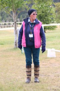 Susan O'Brien volunteers at so many events, where her roles vary from stewarding to secretary. She also holds the volunteer role of ESNZ Head Steward