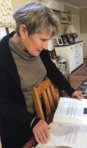 Lesley has a scrapbook of cuttings, letters and photos of Jonelle's earlier riding days (Image: NZHP)