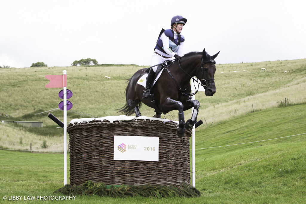 Nicola Wilson on Bulana was send in the CIC3* Class (Image: Libby Law)
