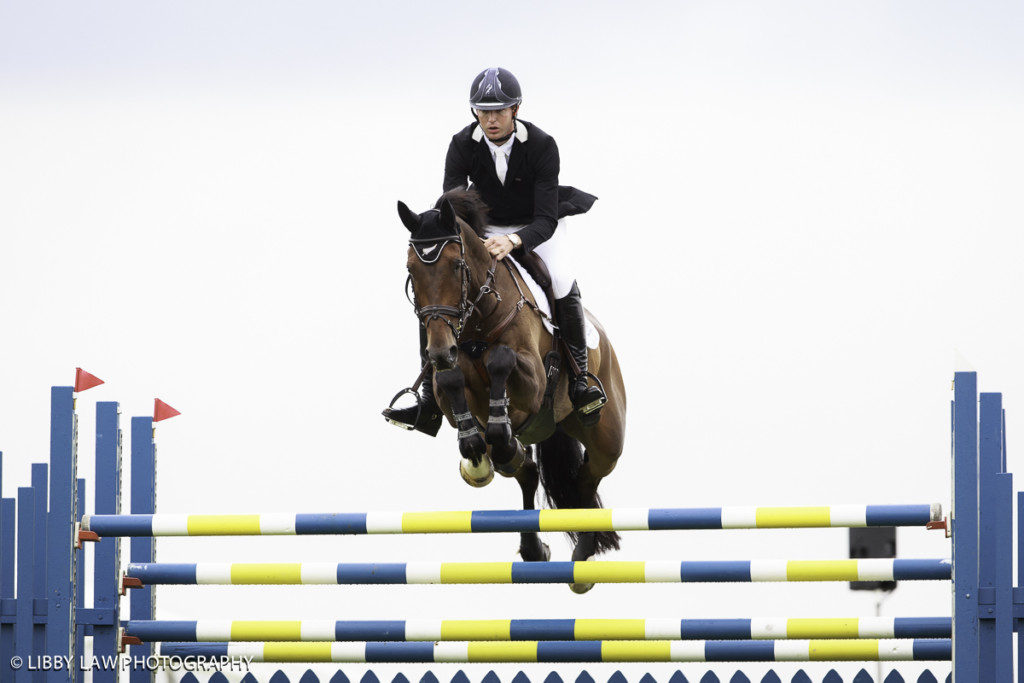 Jesse Campbell and Cleveland had a good performance for ninth in the ERM CIC3*. (Image: Libby Law)