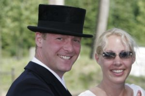 Dressage riders and married couple Anders Dahl (Denmark) and Fiona Bigwood (GBR) will compete against each other