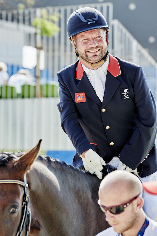 Lee Pearson from Great Britain (Image: FEI)