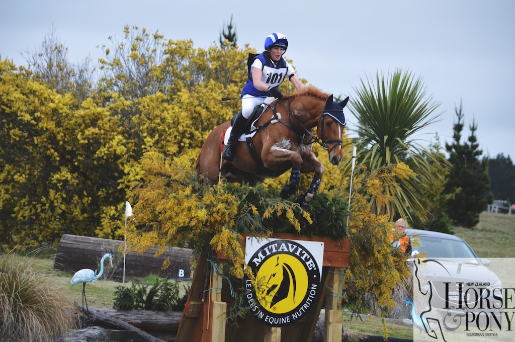 Kirsty Sharapoff had a good win on Shoot the Breeze in the CNC3* class at Canterbury (Image: Olivia Skidmore Photography)
