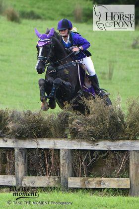 Ashleigh Butler & Double Flashback won the NZPCA 105